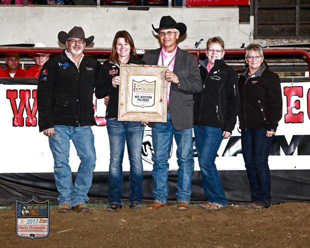 2017 Great Lakes Circuit Best Medium Rodeo Award